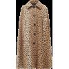 MARC JACOBS Cheetah-print alpaca-blend c - Kurtka -