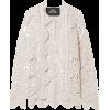 MARC JACOBS Crocheted cotton cardigan - Cardigan -