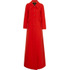 MARC JACOBS red wool blend maxi coat - Куртки и пальто -