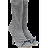 MARCO DE VINCENZO Embellished ribbed-kni - Boots -