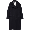 MARGARET HOWELL dark navy coat - Kurtka -
