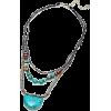 MARGAUX TURQUOISE NECKLACE - Necklaces - $59.00