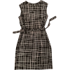 MARIMEKKO linen dress - ワンピース・ドレス -