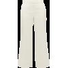 MARINA MOSCONE Pantalon ajusté en laine - Capri & Cropped -