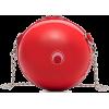 MARINE SERRE red round handbag - Hand bag -