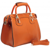 MARISSA Office Tote Top Double Handle Doctor Style Bowler Handbag Satchel Purse Shoulder Bag Orange - Torbice - $35.50  ~ 225,52kn