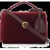 MARK CROSS Grace Mini Box velvet shoulde - Hand bag -