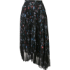 MARKUS LUPFER pleated floral skirt - Skirts -