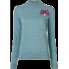 MARKUS LUPFER sequin medal jumper - Pullovers - $496.00