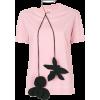 MARNI floral choker T-shirt - T-shirts - 467.00€  ~ $543.73