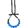 MARNI Bead, resin and satin necklace - Halsketten -