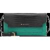 MARNI Croc-effect leather shoulder bag - Messenger bags -