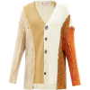 MARNI Deconstructed wool-blend cardigan - Veste -