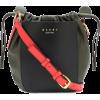MARNI Leather crossbody bag - Messenger bags -