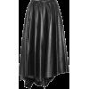 MARNI Leather midi skirt - Röcke -