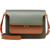 MARNI Trunk Medium leather shoulder bag - Messenger bags -