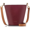 MARNI burgundy bag - Hand bag -
