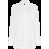 MARNI chemise à surpiqûres contrastantes - Long sleeves shirts - $663.00