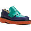 MARNI colour blocked loafers - Mocasines -