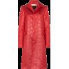 MARNI floral embossed coat - Chaquetas -