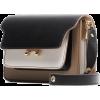 MARNI leather shoulder bag - Torby z klamrą -