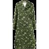 MARNI leopard-print matelassé trench coa - Jacket - coats -