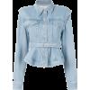 MARQUES'ALMEIDA belted denim jacket - Jacket - coats -