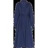 MARTIN GRANT navy wrapped trench coat - Jakne i kaputi -