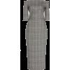 MARTIN GRANT off-shoulder wool dress - Платья -