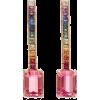 MATEO tourmaline and sapphire earrings - Orecchine -