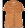 MATIN voile shirt - Srajce - kratke -