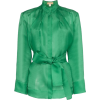 MATÉRIEL gathered belted blouse - Camicie (lunghe) -