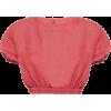 MATTEAU cropped blouse - Košulje - kratke -