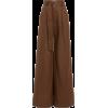 MATTHEW BRUCH brown linen pants - Jeans -