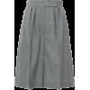 MAX MARA grey pleated shorts - 短裤 -