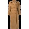 MAX MARA ruffle sleeve trench coat - Jacket - coats -