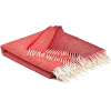 MCNUTT OF DONEGAL rusty red throw - Uncategorized -
