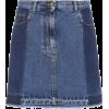 MCQ ALEXANDER MCQUEEN Denim miniskirt - Röcke -