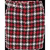 MCQ ALEXANDER MCQUEEN Houndstooth wool-b - Skirts -
