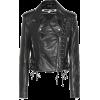 MCQ ALEXANDER MCQUEEN Leather biker jack - Jacken und Mäntel -