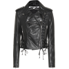 MCQ ALEXANDER MCQUEEN Leather biker jack - Jacket - coats -