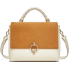 MEDIUM TOTE BAG WITH LEATHER FLAP - Hand bag - 39.95€  ~ $46.51