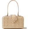 MEHRY MU Fey in the '50s rattan and leat - Bolsas pequenas -