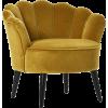 MERCER + REID yellow velvet chair - Uncategorized -