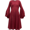 MERLETTE  bordeaux red dress - 连衣裙 -
