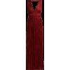 MES DEMOISELLES Robe longue en soie froi - Obleke -