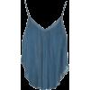 MES DEMOISELLES blue top - Camicia senza maniche - $144.00  ~ 123.68€