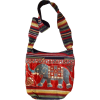MG Decor Madhu's Collection Gypsy Recycled Patchwork Sling Cross Body Elephant Bag/Purse - バッグ - $17.99  ~ ¥2,025