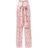 MIAHATAMI printed bow trousers - Capri & Cropped -