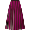 MICHAEL Michael Kors Pleated striped cr - Röcke -